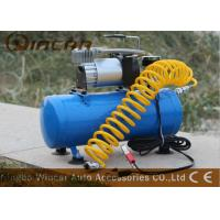 150psi 12V Portable Electric Air Compressor / Metal Car Air Pump Manufactures