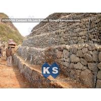Durable Gabion Retaining Wall Hexagonal Wire Mesh Galvanized Wire Stone Boxes Manufactures