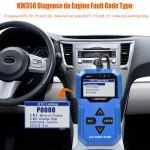 Portable Full System Scan Tool , Konnwei Car Diagnostic Scanner Obd2 TPS Check Manufactures