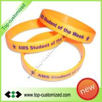 Cheap Custom Silicone bracelet Manufactures