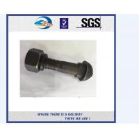 All size carbon steel Railway Bolt mining tunnel bolts fish tail with nuts and washer Manufactures