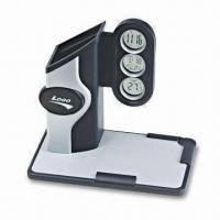 Pen Holder Novelty Digital Clock with Memo Pad Holder, Calendar, and Temperature Display Manufactures