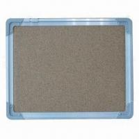 China Memo Cork Board with Aluminum Frame and ABS Protective Corners on sale