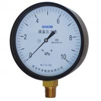 Quality Low Pressure Micro Pressure Capsule Pressure Gauge for for sale