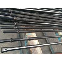 Hand Held Rock Drills Integral Drill Steel , Rock Drill Rods With Chisel Tungsten Carbide Tips Manufactures