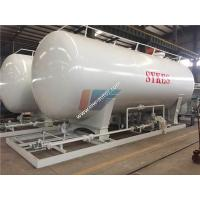 China Carbon Steel 40000 Liters 20MT LPG Gas Storage Tank Cooking Gas Filling Station on sale