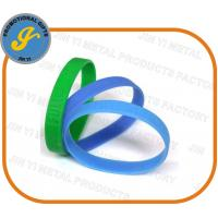Debossed/Embossed Silicone Wristbands Manufactures