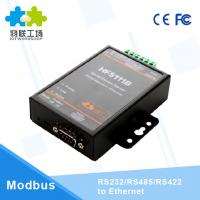China HF5111B serial to ethernet converter Serial RS232/RS485/RS422 to Ethernet Converter on sale