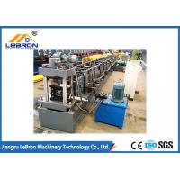 New grey color strong support steel storage rack roll forming machine / metal storage rack making machine Manufactures