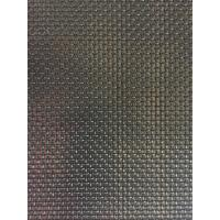 Stainless Steel Security Fly Screen Mesh With Plain Weave & Powder Coating Manufactures
