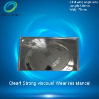 Fresnel mirror lenses,PMMA Plastic Fresnel Minifier Lens,Wide-angle mirror reflection,ATM wide angle lens 120X75mm Manufactures