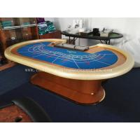 Round Table Seats 8 Diameter: Luxury 9 Seats Round Baccarat Table Casino Baccarat Table