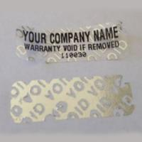 Tamper Evident Security Tape Tamper Proof Seals For Brand Protection Manufactures