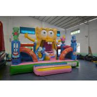 Buy cheap Funny SpongeBob Square Pants Bouncy jumping Castles Waterproof For Kids from wholesalers