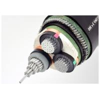 Aluminum Conductor Steel Wire Armoured Electrical Cable 3 Cores XLPE Insulated MV Power Cable Manufactures