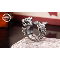 Wholesale fashion Jewelry Vintage Ring for men E20 Retro fashion stainless steel ring Manufactures