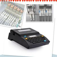 portable smart Cable ID Printer , industrial identification wire label printer Manufactures