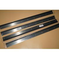 Quality high quality wash up blade 822mm 9 holes part for PM74 machine for sale