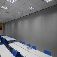 China Acoustic Partition Panels Soundproofing Aluminium Movable Partition Wall For Hotel on sale