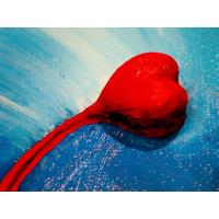 heart oil painting on canvas 40 * 50 Manufactures