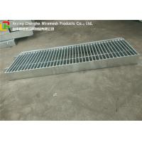 City Road Galvanised Walkway Panels , Rigid Stainless Steel Walkway Gratings Manufactures