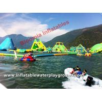 Buy cheap CE Inflatable Aqua Park Inflatable Kids Floating Water Parks Rentals Lake Fun from wholesalers