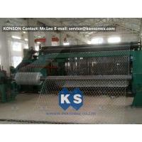 High Efficiency 22kw Hexagonal Gabion Mesh Machine 80x100mm Mesh Size Manufactures