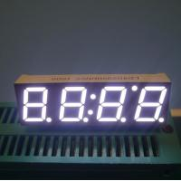 """0.39"""" 4 Digit Common Cathode Seven Segment Display Set - Top Boxes Applied Manufactures"""