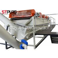 Stainless Steel Plastic Washing Recycling Machine PET Bottle Rinsing Tank Manufactures