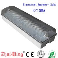 China Fluorescent  Waterproof Fire-Retardant ABS Casing and PO Diffuser Emergency Light on sale