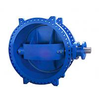 China Easy Installation High Performance Butterfly Valves / Double Eccentric Butterfly Valve on sale