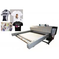 Sublimation Textile Printing Machine / Digital Flatbed Printer High Efficiency Manufactures