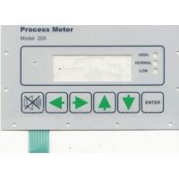 Quality PCB Waterproof Membrane Switch For Industrial Control , PET material for sale