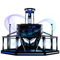 Shooting Spcae Virtual Reality Walking Machines For Shopping Mall / VR Game Simulator Manufactures