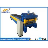 Blue Color Glazed Tile Roll Forming Machine Siemens PLC Control Full Automatic Manufactures