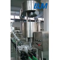 SUS304 350 - 1250ml Plastic Bottle Capper Machine With 6 Capping Heads 1500kg Manufactures