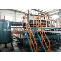 China Large Capacity Paper Pulp Molding Machine , Egg Carton Making Machine on sale