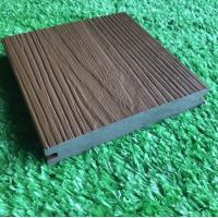 Co Extrusion Hollow WPC Deck Flooring Anti Scratch For Outdoor Manufactures