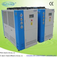 3 - 45 P Air To Water Industrial Small Air Cooled Mini Water Chiller Low Noise Manufactures