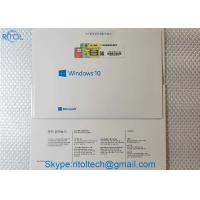 China Multi Language Windows 10 Product Key Sticker Professional 64 Bit OEM FPP License on sale