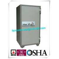 Cupboard Fireproof Safety Storage Cabinets , Moistureproof Fire Safe Document Storage Cabinets Manufactures