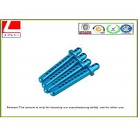 Blue Anodization Aluminium CNC Turning Parts Shaft For General Industries Manufactures