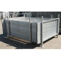 China Hot-Dipped Portable 2.4m X2.1m Temporary Moveable Safety Fence Australia Market on sale