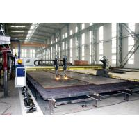 Long Span Gantry Cutting Machine Use Double Sets Panasonic Sero Motors Drive Frame Move Along the Tracker Manufactures