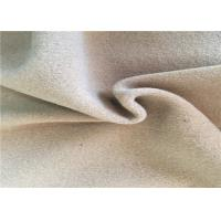 60% Warm Wool Woven Fabric , Washable Wool Fabric For Scarves Manufactures