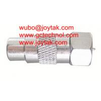 China Coaxial Adapter Coaxial Adaptor RCA Female To F Male Connector CCTV Radio / RCAF.FM.02 on sale