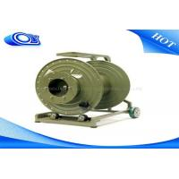 Telecom Mobile Extension Tactical Fiber Optic Cable Reel 1 ~ 12 Cores Manufactures
