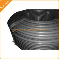 Quality 12.5mm Gray color Reinforced PU Round Belt, polyurethane Belt with reinforced for sale