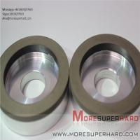 China 6A2 The resin bond diamond is easy to dress the superhard diamond grinding wheel  Alisa@moresuperhard.com on sale