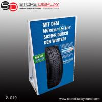 Quality custom retail corrugated paper cardboard display stand for sale